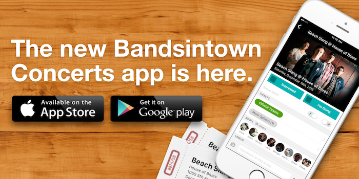 The new Bandsintown Concerts app is here